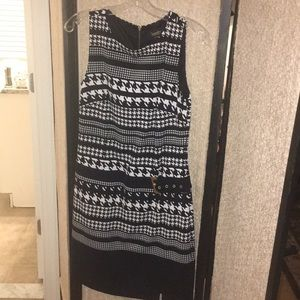 Laundry by Shelli Segal Houndstooth Dress